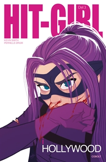 Hit-Girl i Hollywood 3 forside