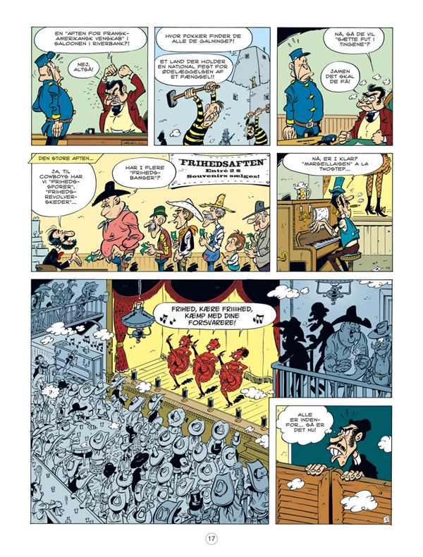 Lucky Luke: En cowboy i Paris side 17