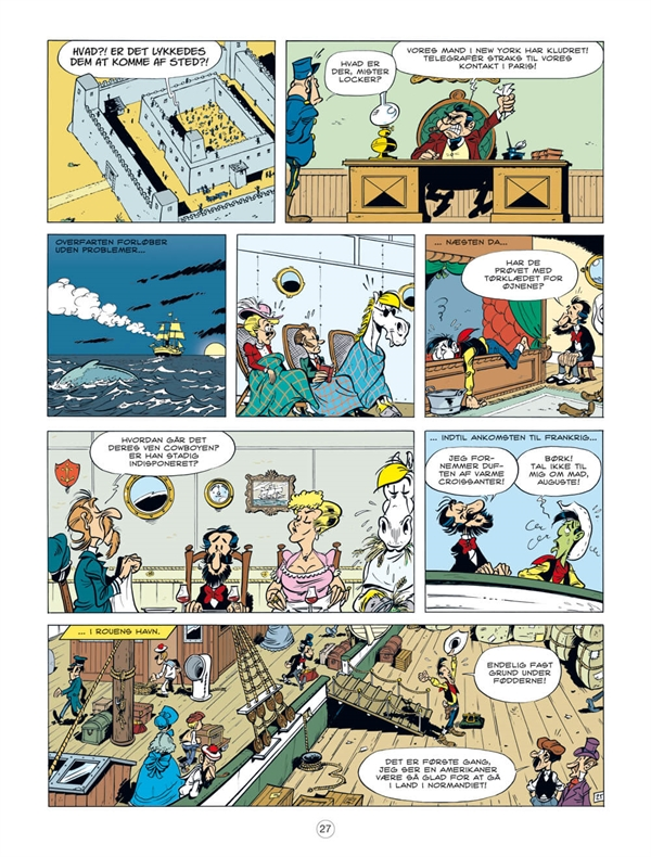 Lucky Luke: En cowboy i Paris side 27