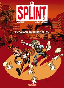 Splint & Co. 54: Piccoloen på Sniper Alley forside