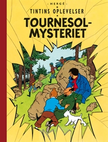 Tintin: Tournesolmysteriet - softcover forside